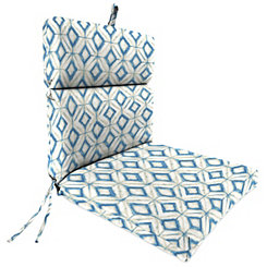 Mediterranean Chaise Outdoor Lounge Cushion