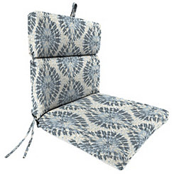 Pellyn Silver Frost Chaise Outdoor Lounge Cushion