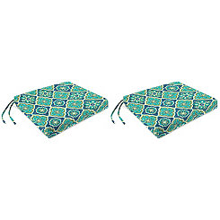 Adonis Capri Outdoor Seat Cushions, Set of 2