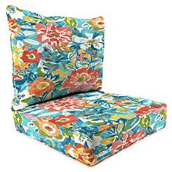 Sun River Sky 2-pc. Outdoor Chair Cushion Set