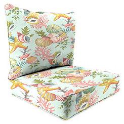 Grantoli Sea Mist 2-pc. Outdoor Chair Cushion Set