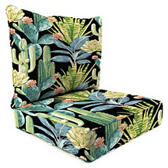 Hatteras Ebony 2-pc. Outdoor Chair Cushion Set