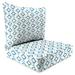 Mediterranean 2-pc. Outdoor Chair Cushion Set