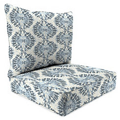 Silver Frost 2-pc. Outdoor Chair Cushion Set