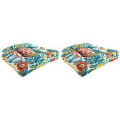 Sun River Outdoor 19 in. Seat Cushions, Set of 2