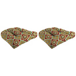 Jewel Outdoor 19 in. Seat Cushions, Set of 2
