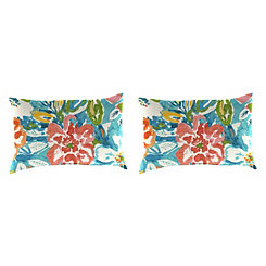 Sun River Sky Outdoor Accent Pillows, Set of 2