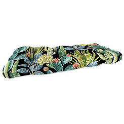 Hatteras Ebony Outdoor Loveseat Cushion