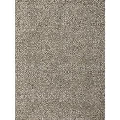 Neutral Mosaic Area Rug, 8x10