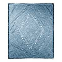 Blue Diamond Throw