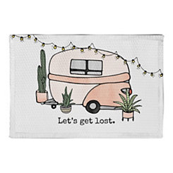 Let's Get Lost Non-Skid Accent Rug