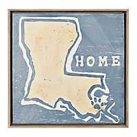 Louisiana Home Framed Art Print