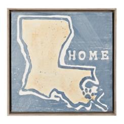 Louisiana Home Framed Art Print