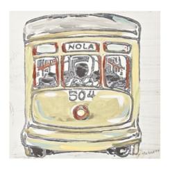 Streetcar Canvas Art Print