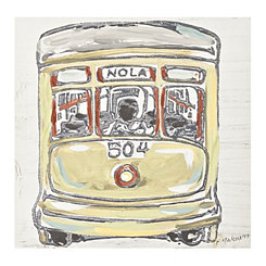 Streetcar Canvas Art Print