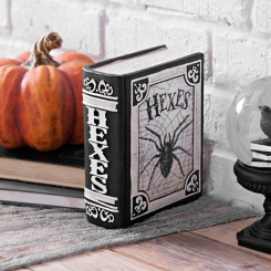 Black and White Halloween Hexes Book