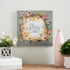 Bless this Home Painted Frame Print