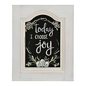 Today I Choose Joy Framed Art Print