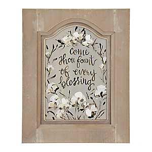 Every Blessing Cotton Framed Art Print