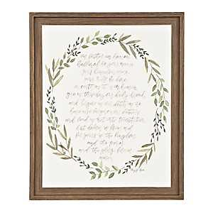 The Lord's Prayer Framed Art Print