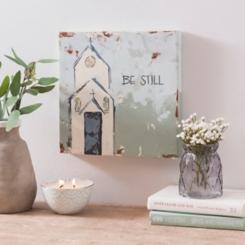 Be Still Church Canvas Print