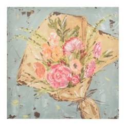 Farmer's Market Bouquet Canvas Art Print