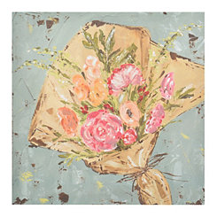 Farmer's Market Bouquet Canvas Art Print