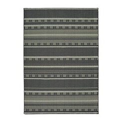 Luna Geometric Stripe Area Rug, 5x7