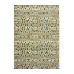 Raleigh Distressed Oval Area Rug, 5x7