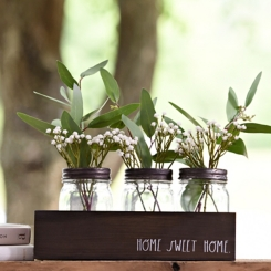 Rae Dunn 4-pc. Mason Jar Vase Runner