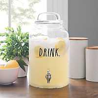 Rae Dunn Drink Glass Beverage Dispenser