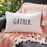 Rae Dunn Gather Accent Pillow