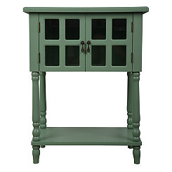 Naomi Moss Green Accent Table