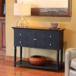 Tristan Black Buffet Table