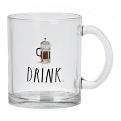 Rae Dunn Drink Glass Mug