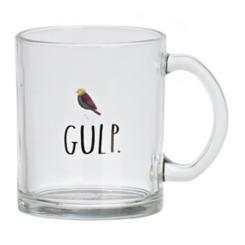 Rae Dunn Gulp Glass Mug