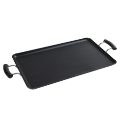 Non-Stick Gray Aluminum Griddle