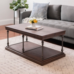 Sonoma Dark Finish Coffee Table