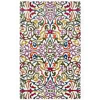 Multicolor Floral Vine Area Rug, 8x10