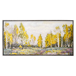 Light Field Framed Canvas Art Print