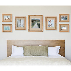 7-Pc. Rustic Wood Collage Frame Kit