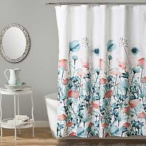 Zoe Flora Shower Curtain