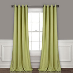 Sage Insulated Blackout Curtain Panel Set, 95 in.