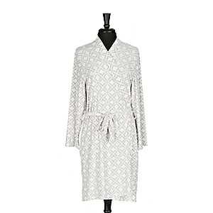 Gray Diamond Pocket Robe, L/XL