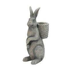 Gray Bunny Planter