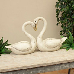 Love Swans Figurine