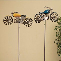 Antique Motorcycle Wind Spinners