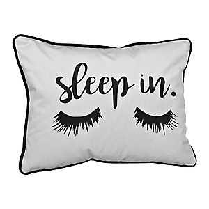 Sleep In Velvet Eyelash Pillow