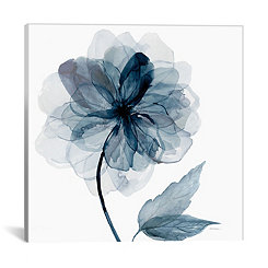Indigo Bloom I Canvas Art Print