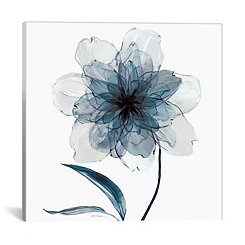 Indigo Bloom II Canvas Art Print